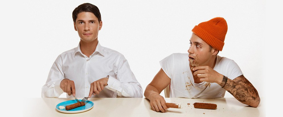 bassjackers eating croquettes