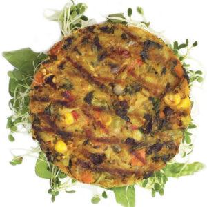 Image of Vegan Veggie Burger