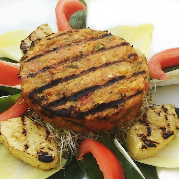 Bali Vegan Veggie Burger